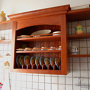 12 cucinotto ciliegio muratura in opera