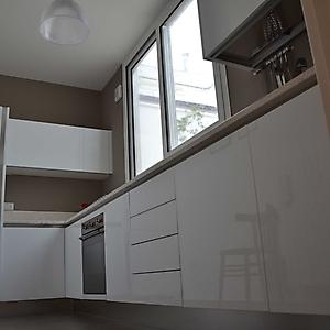 13 cucina moderno bianco lucido gola