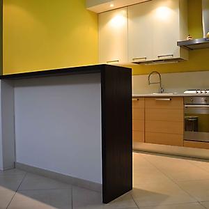 15 moderna cucina rovere sbiancato laccato opaco