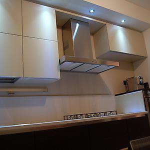 8 parete cucina moderna rovere moro sabbia