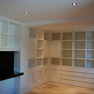 10 ambiente studio moderno laccato bianco