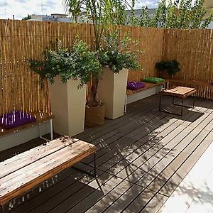 2 allestimento piccola veranda