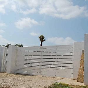 6 prospetto muro a secco casa campagna