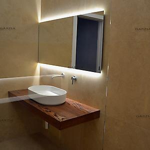 13 bagno moderno travertino spazzolato